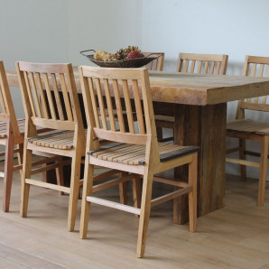 kit 4 Cadeiras AR Natural  - 856