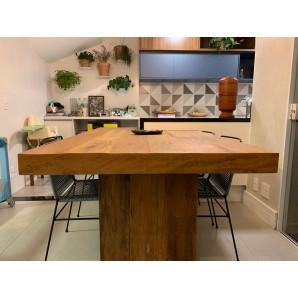 mesa pé painel estilo nobre