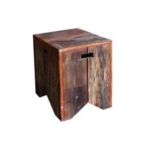 Banco Volpi Rústico em madeira de Demolição Natural