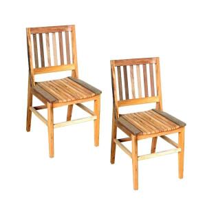 Conjunto Cadeiras de Madeira Maciça - AR