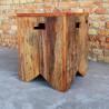 Banco Volpi Rústico em madeira de demolicao