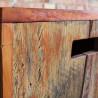 Banco Volpi Rústico em madeira de Demolição